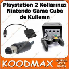 Playstation 2 Kolunu Nintendo Game Cube e �evir
