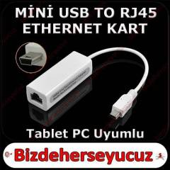 M�N� USB 5 Pin ETHERNET KARTI LAN ETHERNET CARD