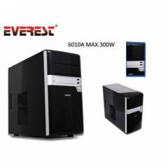 Everest 6010A 250W MicroAtx Kasa / Piano Siyah