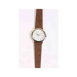 Tooled Leather Watch- URBAN OUTFITTERS