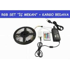10 MT SET-RGB �ER�T LED +ADAPT�R +KUMANDA +KARGO