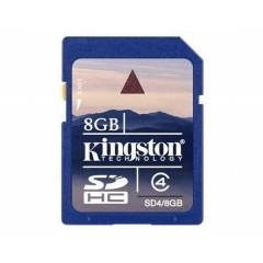 Kingston 8 Gb Sd Card SD4