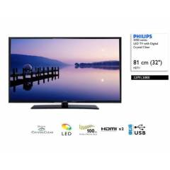 Philips 32PFL3088H 82 Cm 100Hz Led TV