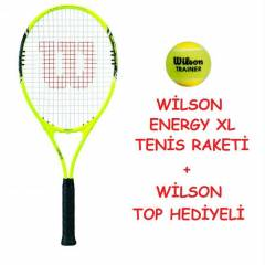 W�LSON TEN�S RAKET� ENERGY XL+TOP HED�YEL�
