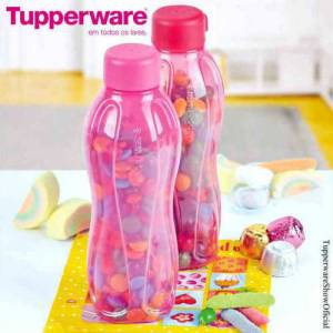 TUPPERWARE  EKO  ���E  PEMBE 500 ML TEK B�ZDEEEE