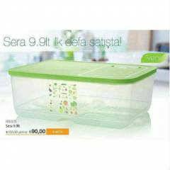 TUPPERWARE SERA SET 9,9  LT KA�MAZ F�YAT..