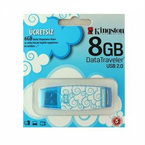 8 GB KINGSTON CLOUD USB BELLEK