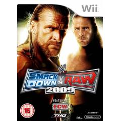 WWE SMACKDOWN VS RAW 2009 WII PAL SIFIR