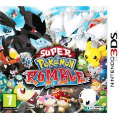 SUPER POKEMON RUMBLE 3DS SIFIR AMBALAJINDA