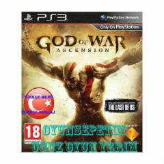 God of War Ascension Ps3 Oyunu T�rk�ee