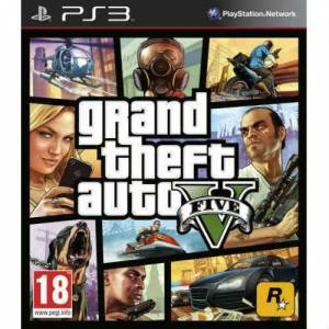 GRAND THEFT AUTO V - GTA 5 PS3 OYUNU SIFIR PAL