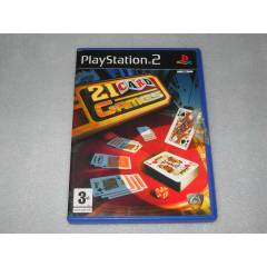"PlayStation2 Oyun ""21 CARD GAMES"""