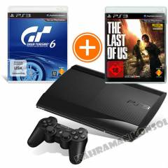 Sony PS3 500GB + The Last Of Us + Gran Turismo 6