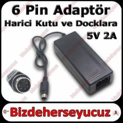 3.5 Harici HDD Adapt�r� 6 pin Supply G�� Kutu