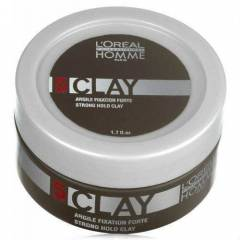 Loreal Homme Clay G��l� Mat Wax 50mL   �ND�R�M