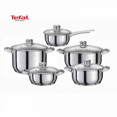 Tefal Simple Chef 10 Para �elik Tencere Seti