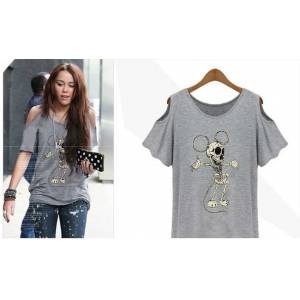 Japon Style Tshirt Bluz Mickey Mouse 3 renk