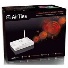 AIRTIES Air 5341 KABLOSUZ 4 PORT ADSL2+ MODEM