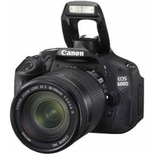 Canon EOS 600D+EF-S 18-135mm IS Lens+Kurs+Set
