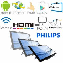 "Philips 21,5"" S221C3AFD-01 Android Monit�r 5ms"