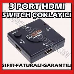HDMI �oklay�c� 3 Port 1080P HDMI Switch Splitter