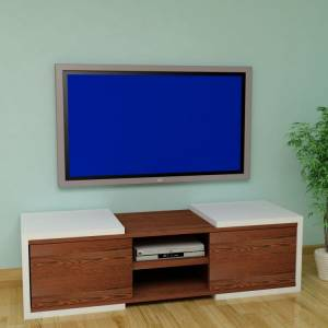 Rafline Optical Tv Sehpas� - Beyaz Wenge