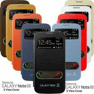 SAMSUNG GALAXY NOTE 3 KILIF FLiP COVER + 2 FiLM