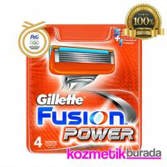 Gillette Fusion Power 4 L� Yedek