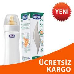 Chicco Kau�uk Emzikli Cam Biberon 240ml