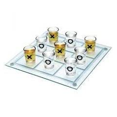 Shot Glass Tic Tac Toe - Shot Bardakl� XOX Oyunu