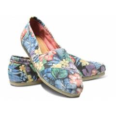 Toms Ayakkab� �i�ekli Faded Tropical Women's