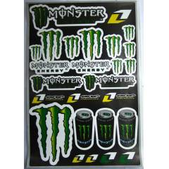 Monster Energy XXL Sticker Set Ara� ��in Uygun!