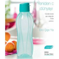 Tupperware Eko �i�e 750ml Turkuaz Yeni Kapak
