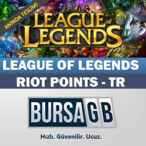 League Of Legends Turkiye LOL 6450 Riot Points
