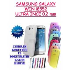 Samsung Galaxy Win i8552 K�l�f 0.2 mm Kapak