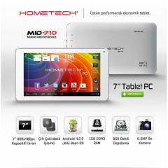 HOMETECH MID710 A9 �ift �ekirdek 1GB Ram 7 in�