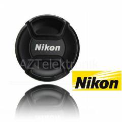 Nikon 18-55mm i�in Snap On Lens Kapa�� Kapak