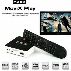 Dark Movix Play Medya Oynat�c� (OUTLET)