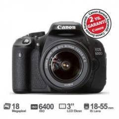 Canon 600D 18-55mm IS II Lens Foto�raf Makinas�
