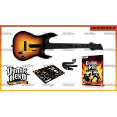 ORJINAL GUITAR HERO WORLD TOUR G�TAR + OYUN PC