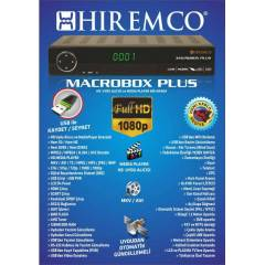 HIREMCO MACROBOX PLUS UYDU ALICISI Full HD 1080p