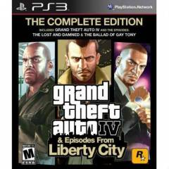 GTA 4 COMPLETE EDITION PS3 OYUNU