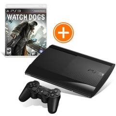 Sony PS3 500 GB Super Slim + Watch Dogs + Hdmi K