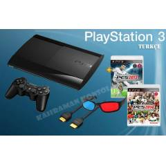 PS3 12 GB 3D S�per Slim+ Pes 13 + Pes 14 + Hdmi
