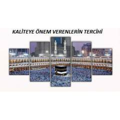 KABE MAV� 5 PAR�A KANVAS TABLO
