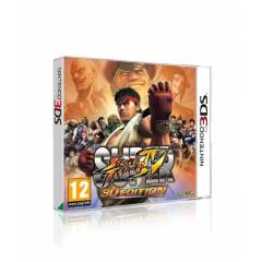 3DS SUPER STREET FiGHTER 4 3D (SIFIR PAL) STOKTA