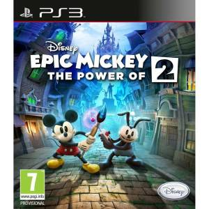 PS3 Disney Epic Mickey 2 The Power of Two SIFIR