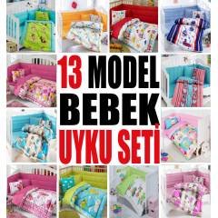NEW 13 MODEL COTTON BOX BEBEK UYKU SET�