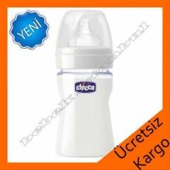 Chicco Nature Glass Cam silikon 150 ml Biberon