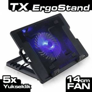TX ErgoStand 14cm Led Fanl� Notebook So�utucu
